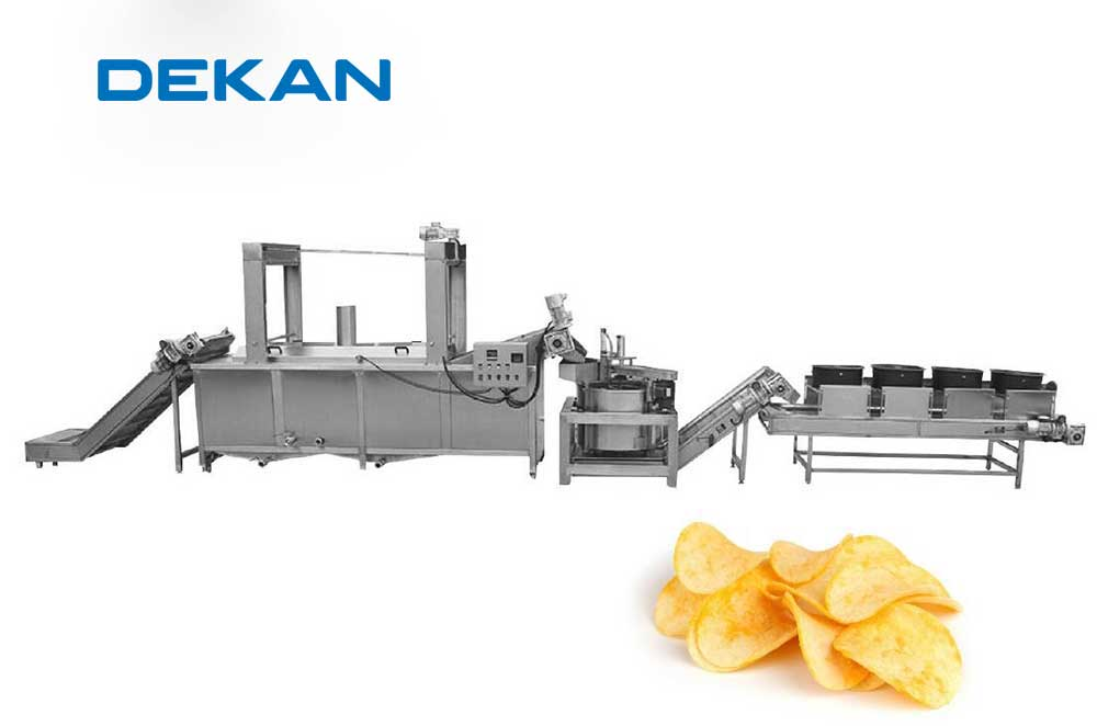 LINIJA ZA PROIZVODNJU ČIPSA / CHIPS PRODUCTION LINE